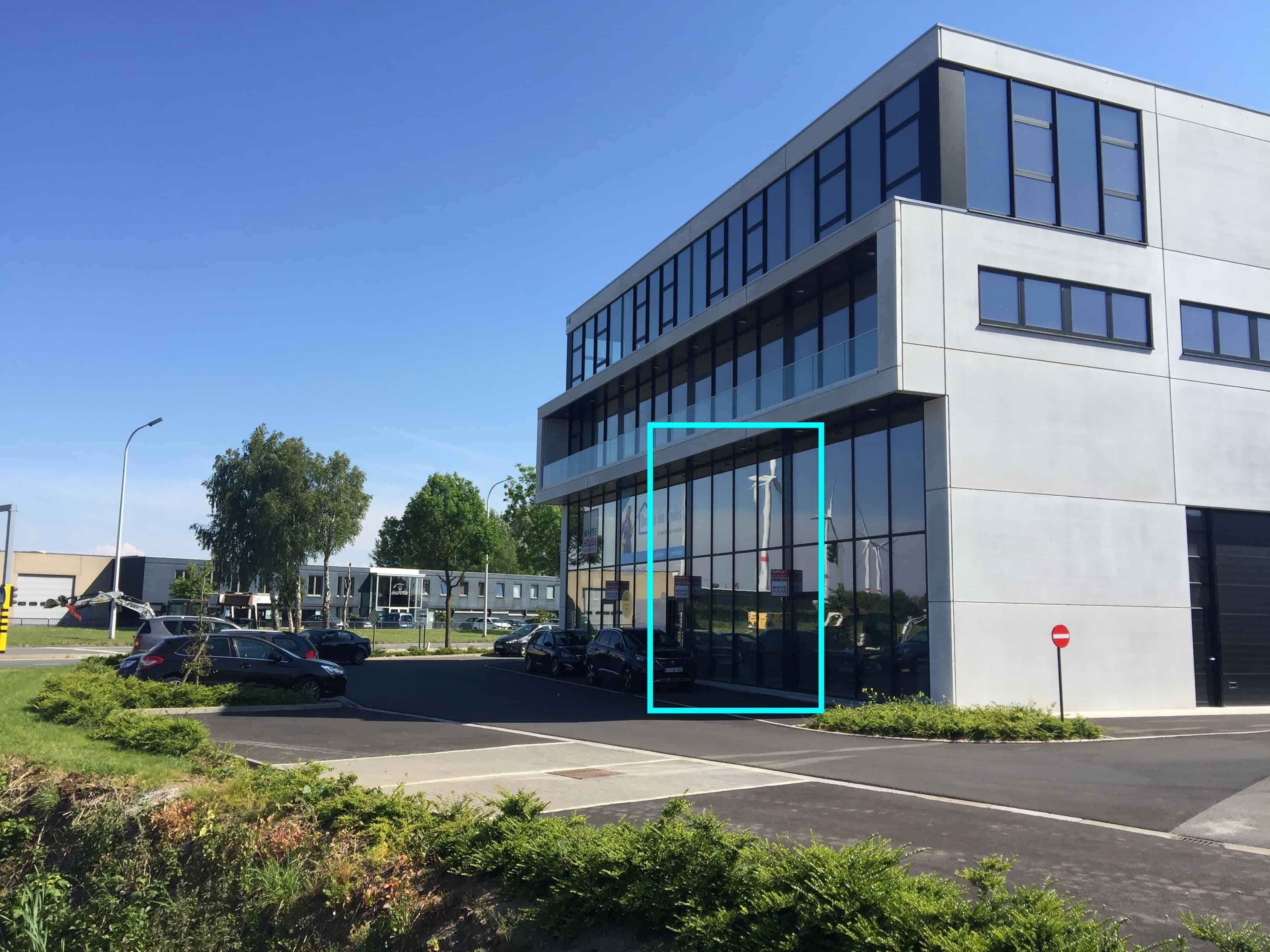 Prachtig kantoorgebouw in Poperinge