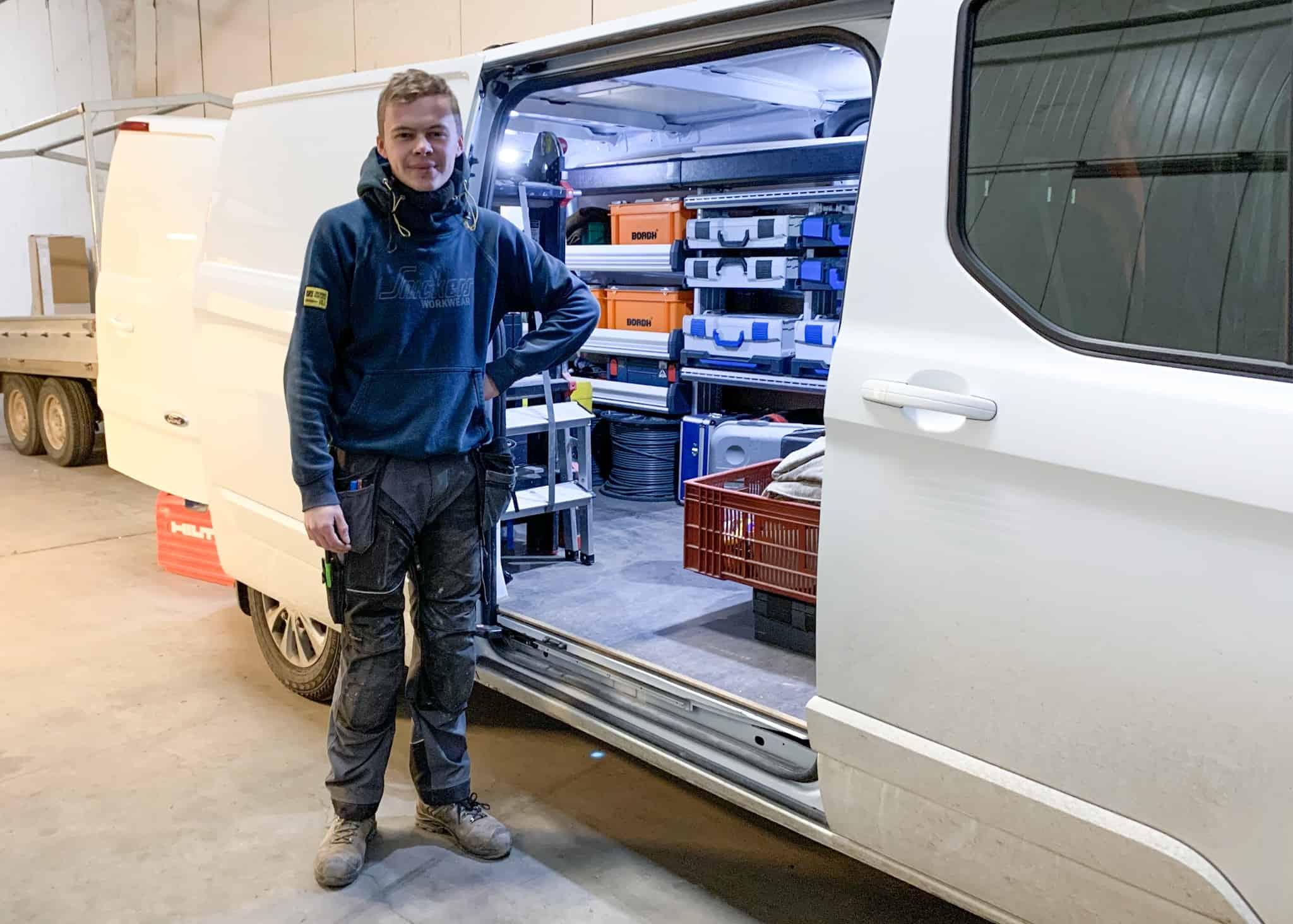 nieuws Elektriciteitswerken Niels Vermeulen in de Poort tot Poperinge